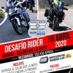 Desafio Rider Salon Vive la moto Madrid