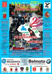 XXV Ruta Mototuristica por la vida
