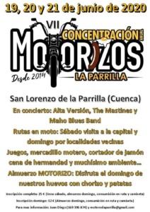 Concentracion motera motorizos