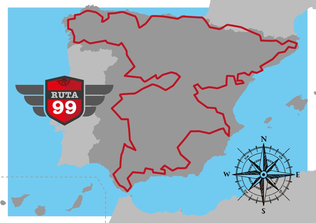 Mapa Ruta99 - Factory Riders